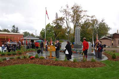 Branch 340 - Cenotaph Opening